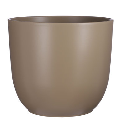 Mica Decorations Tusca pot rond taupe