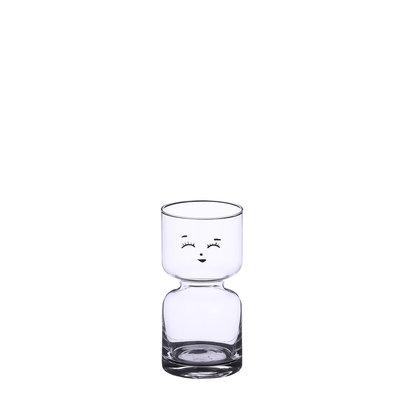 Mica Decorations Vaas glas