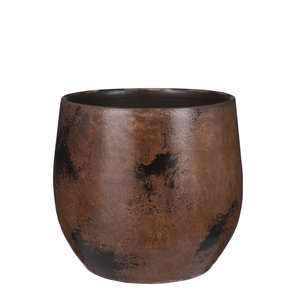 Mica Decorations Oliver pot rond brons metal