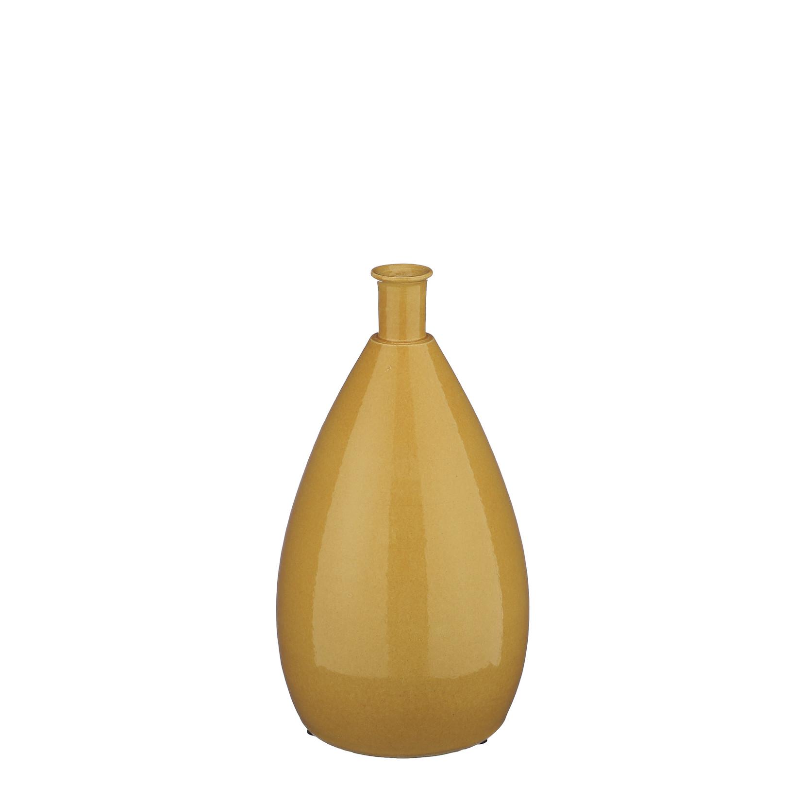 Mica Decorations Clayton bottle ocher
