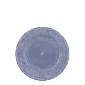 Mica Decorations Mila decoration plate blue