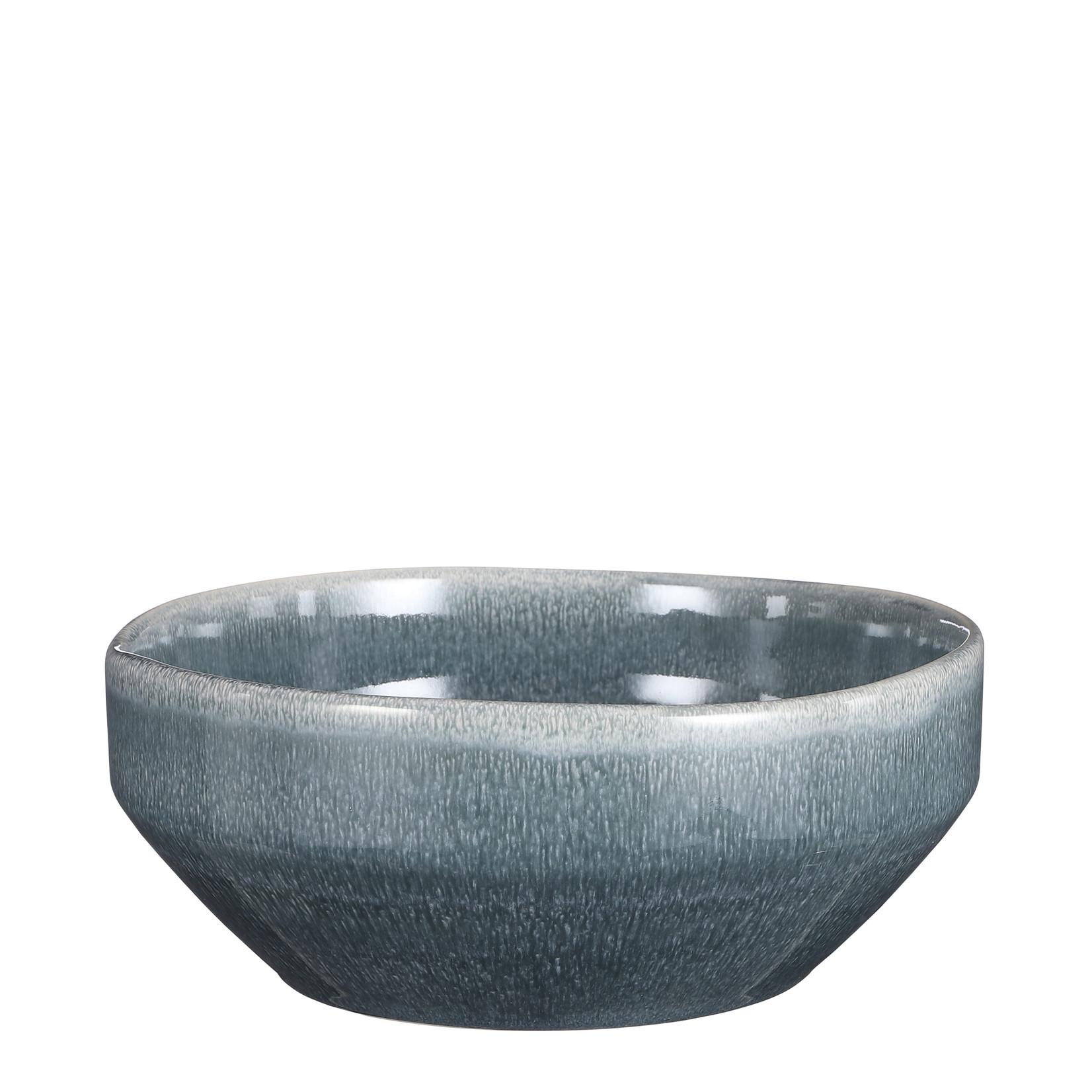 Mica Decorations Rhea bowl petrol