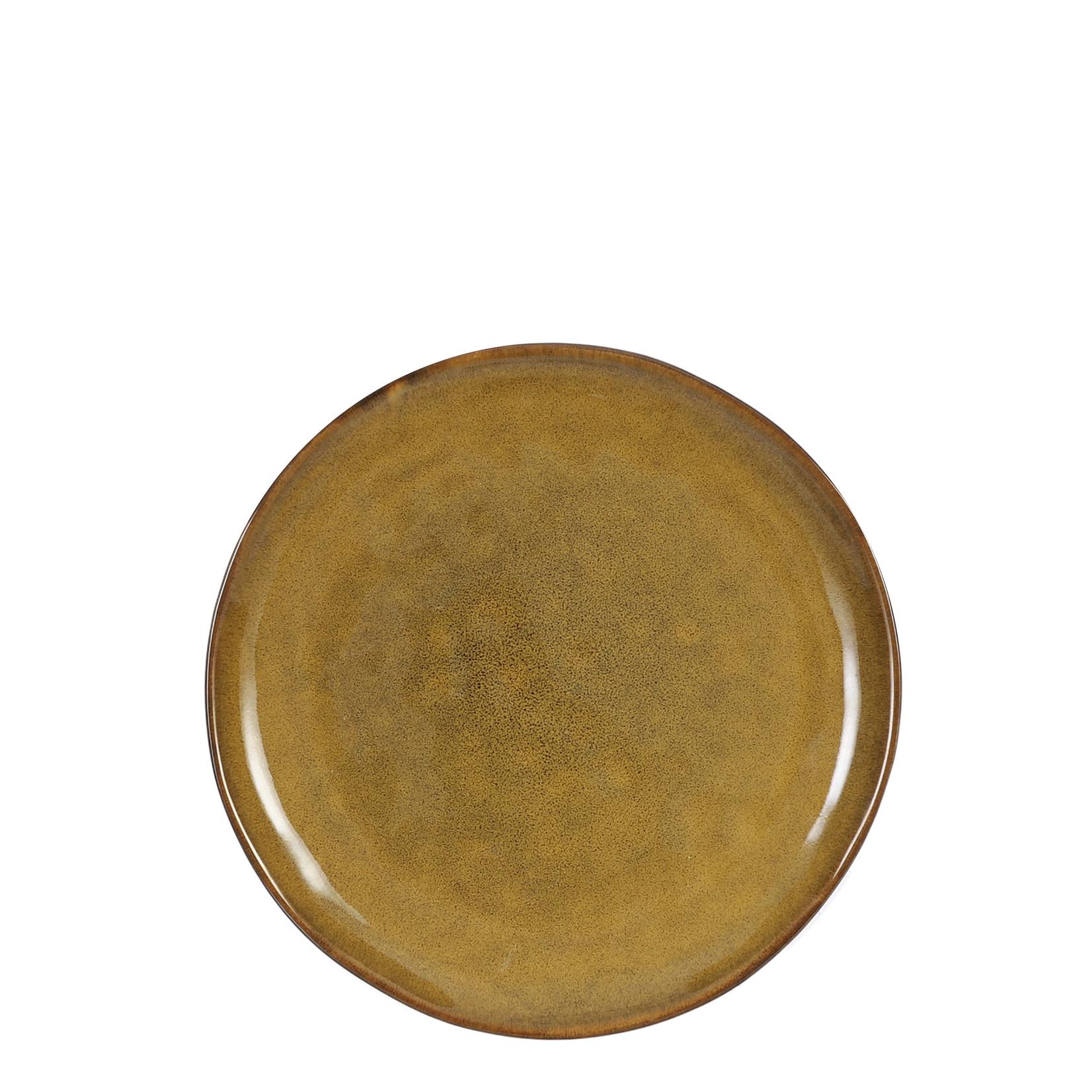 MiCa Tabo breakfast plate ocher