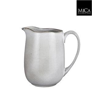 MiCa Tabo jug grey