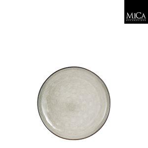 MiCa Tabo plate grey