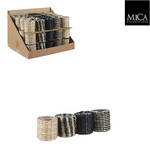 Mica Decorations Alexis pot rond 4 assorti