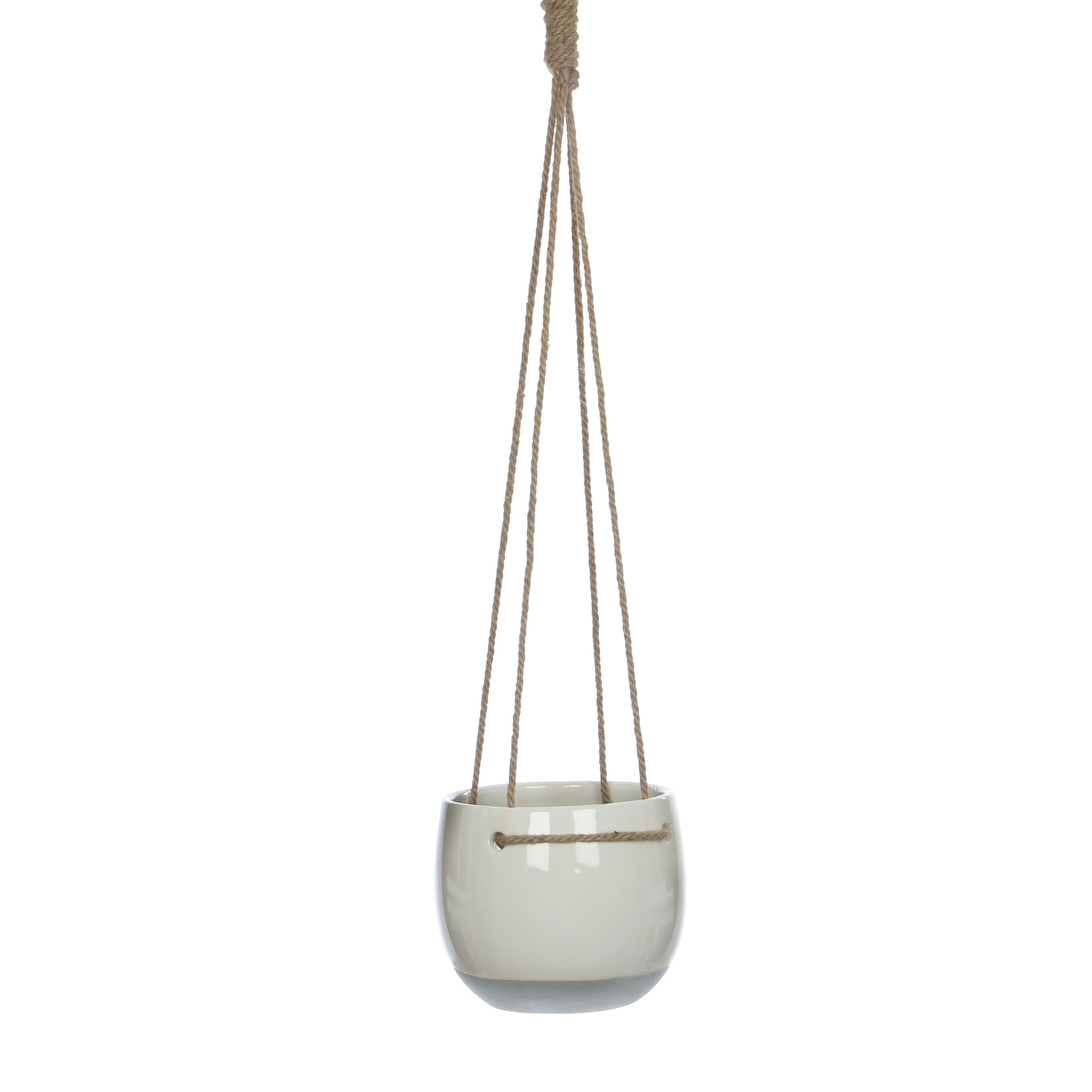 Mica Decorations Resa hangpot rond wit