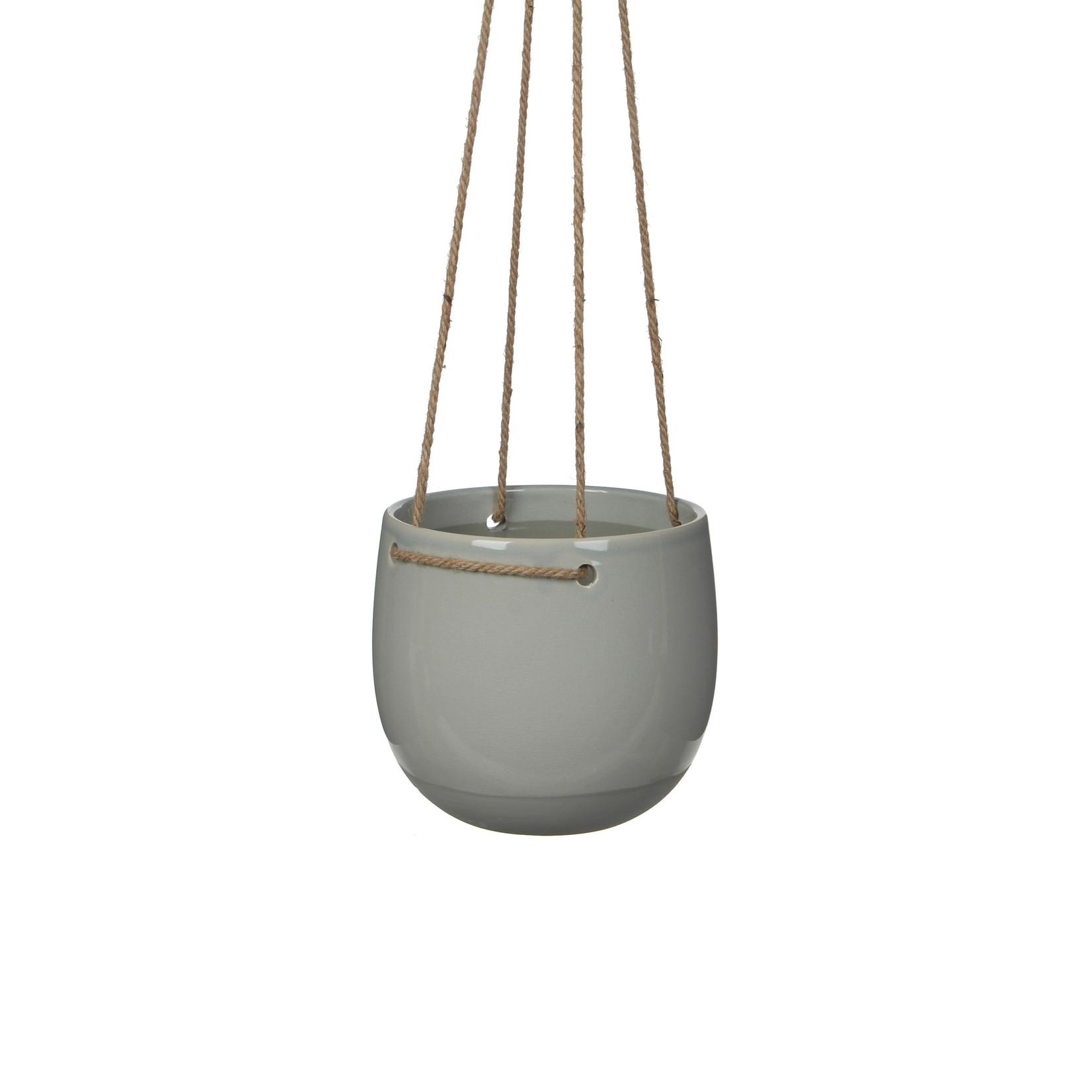 Mica Decorations Resa hangpot rond l.grey
