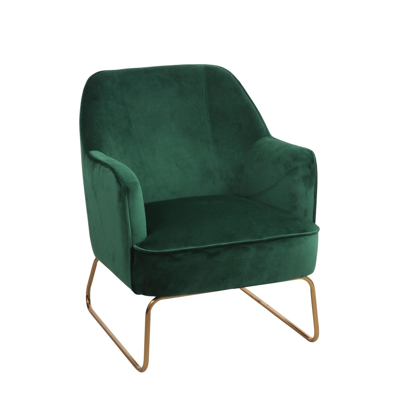 MiCa Suzet stoel groen