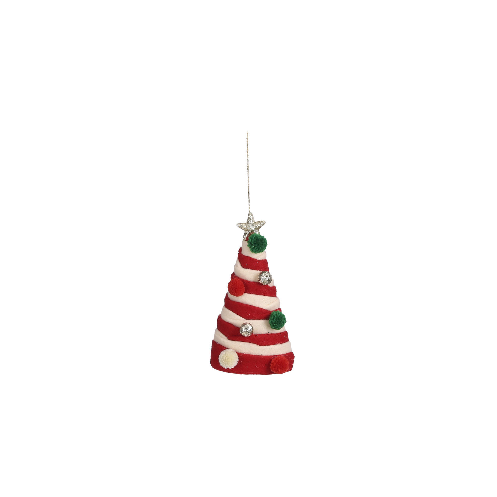 House of Seasons Ornament tree red