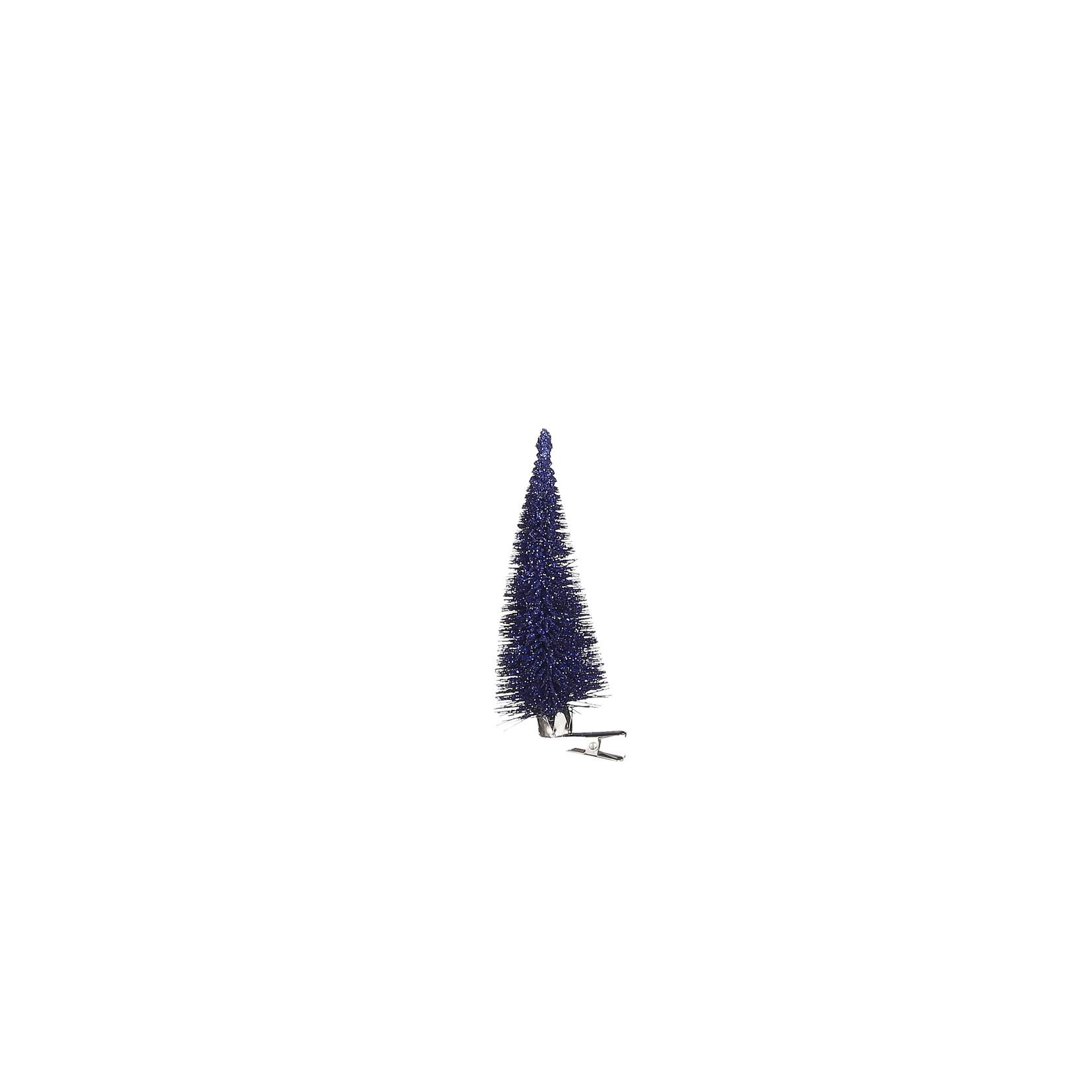 House of Seasons Clip boom d.blauw 6 stuks