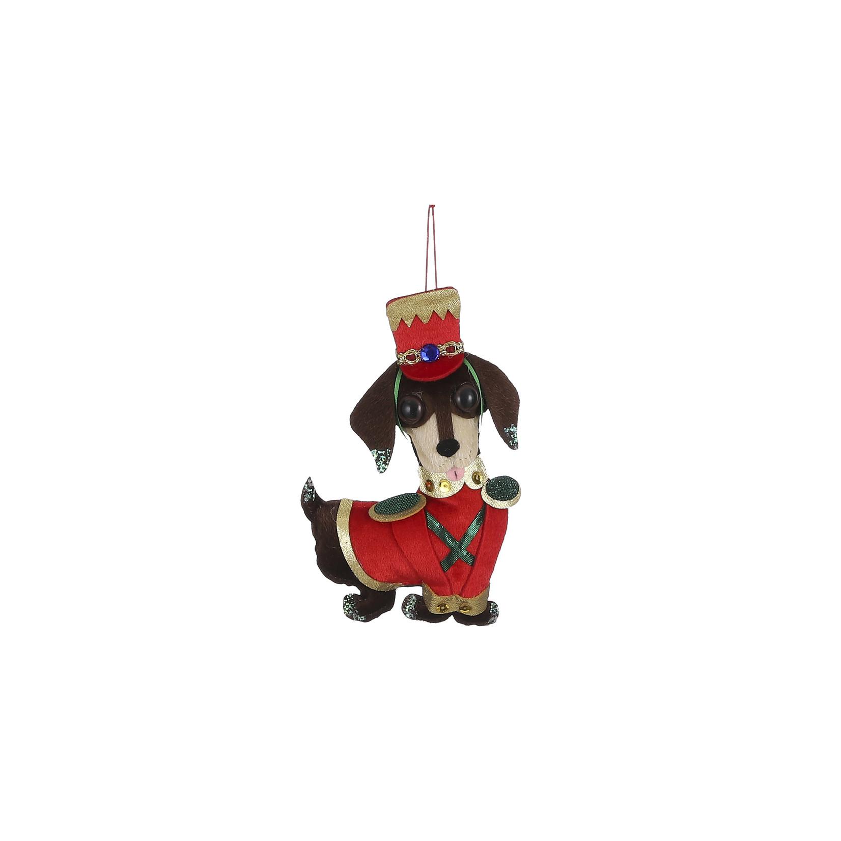 House of Seasons Ornament hond rood