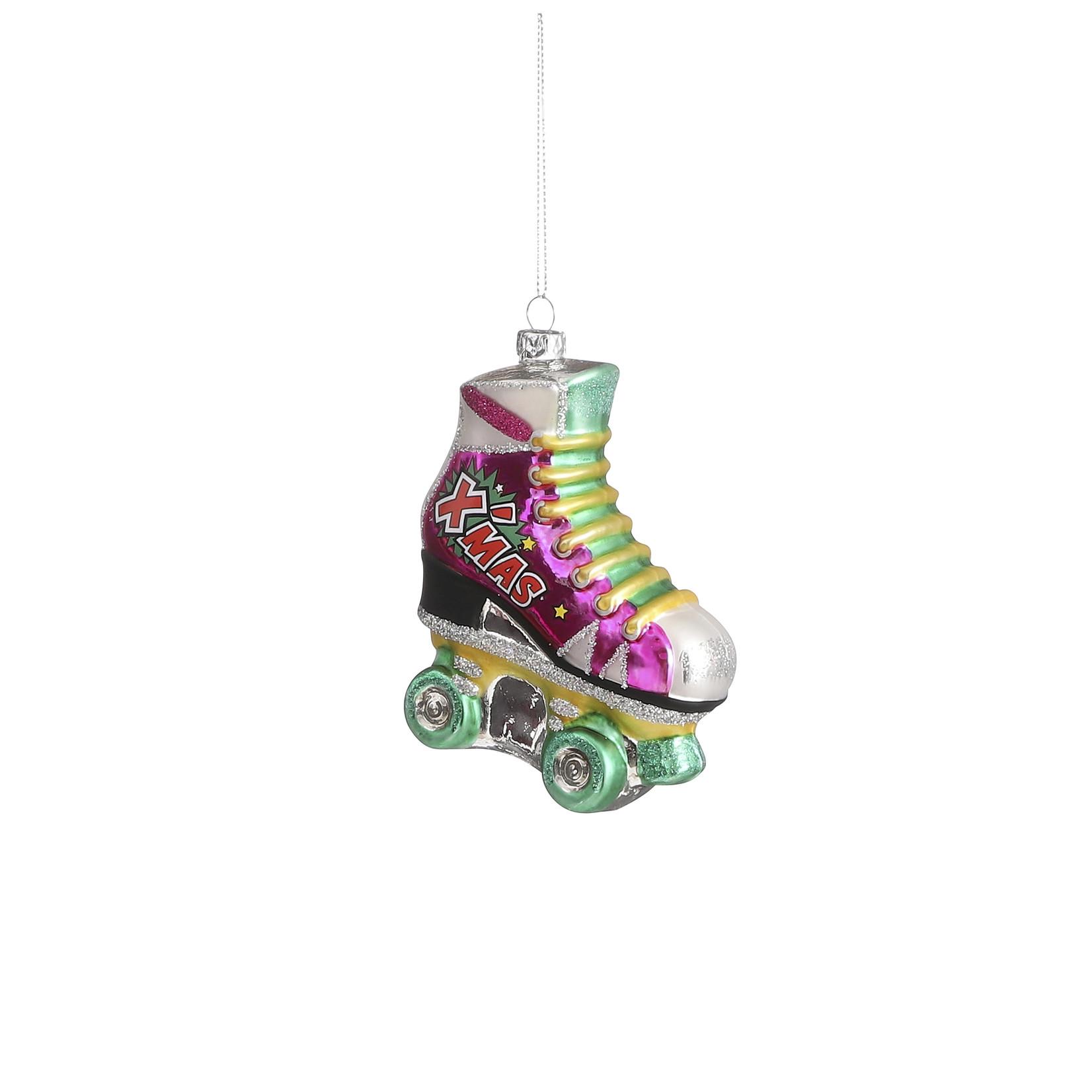 House of Seasons Ornament skate pink