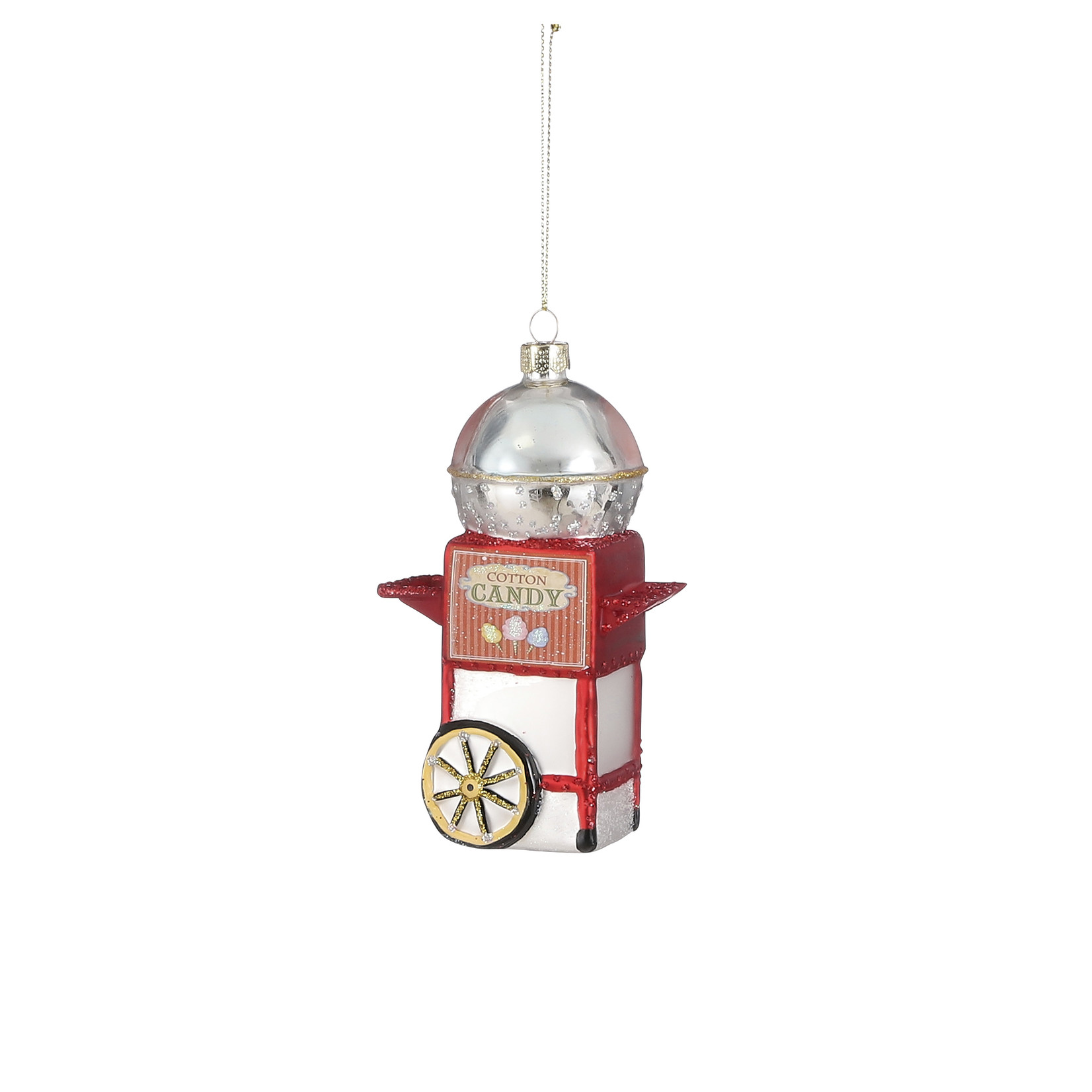 House of Seasons Ornament candy red