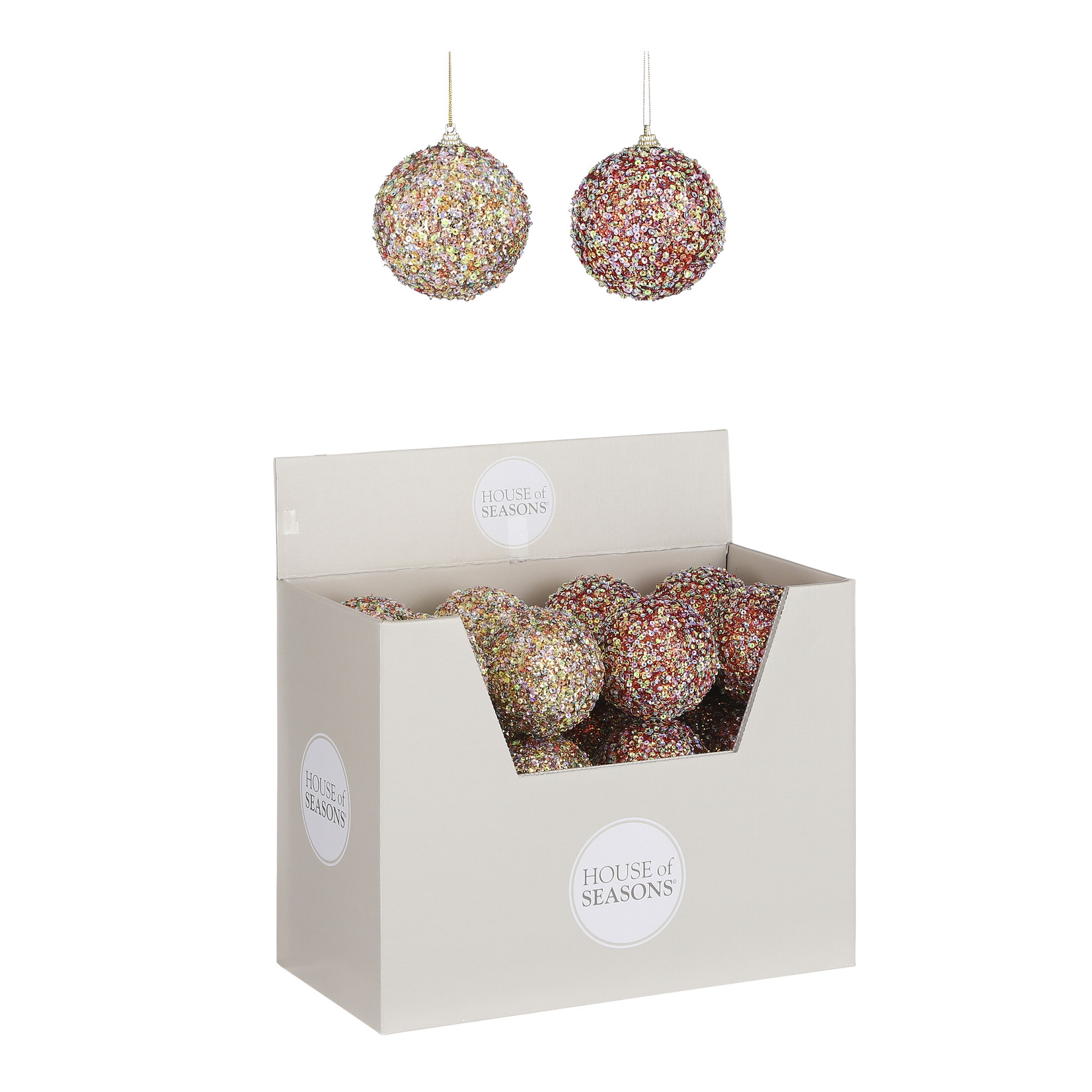 House of Seasons Ball unbreakable red gold