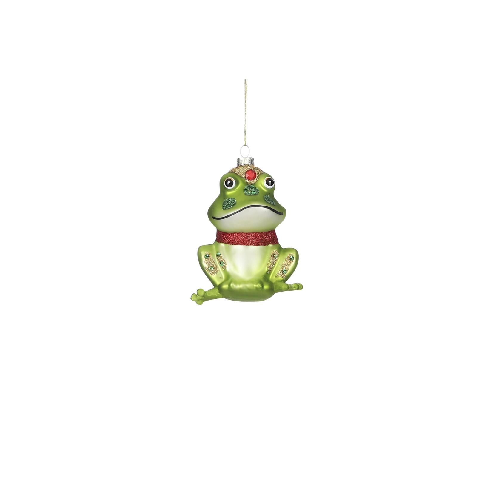 House of Seasons Ornament frog green