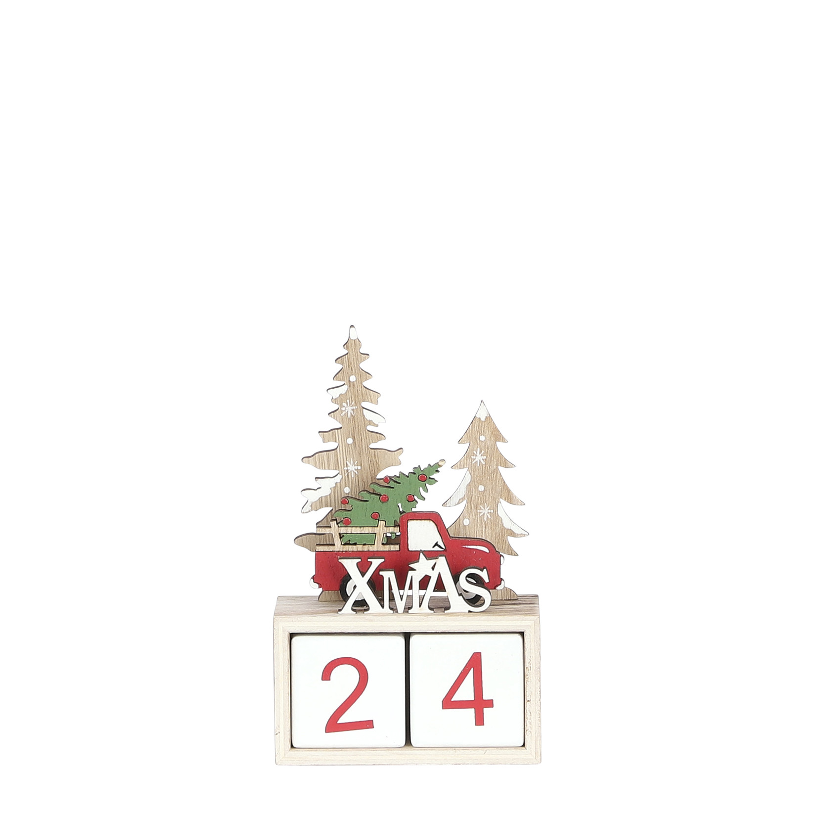 House of Seasons Adventskalender kerst rood