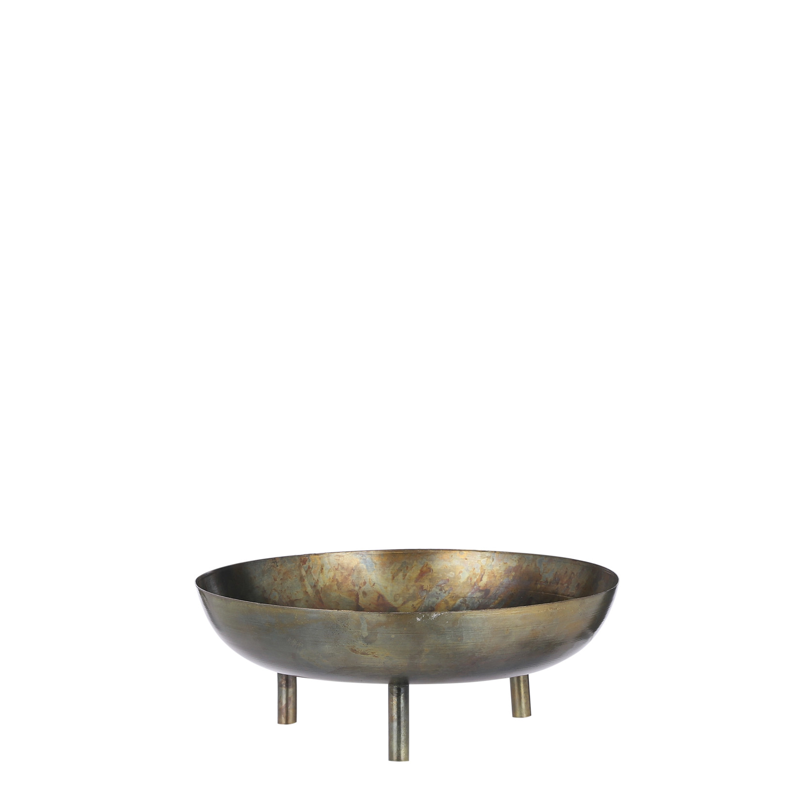 House of Seasons Azar bowl on foot gold antique