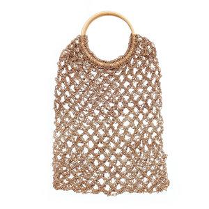 Bazar Bizar Virkattu Crochet Meriruohokassi - Natural