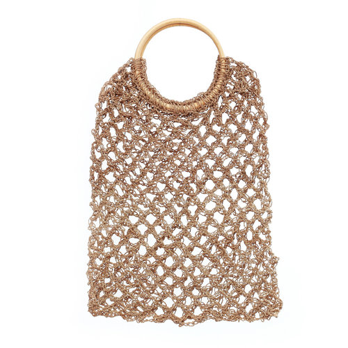 Bazar Bizar The Seagrass Crochet Shopper - Natural