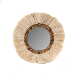 Bazar Bizar The Mowgli Mirror - Natural - 60 cm