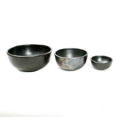 Bazar Bizar The Burned Bowl - Black - 10 cm
