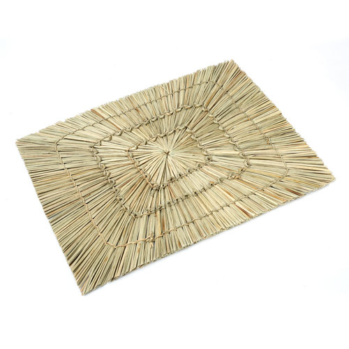 Bazar Bizar The Alang Alang Placemat - Rectangular - Natural - 40 cm
