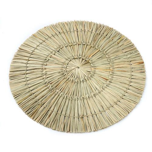 Bazar Bizar The Alang Alang Placemat - Round - Natural - 38 cm