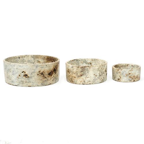 Bazar Bizar Burned Cylinder Astia - Antiikki - 3 kpl