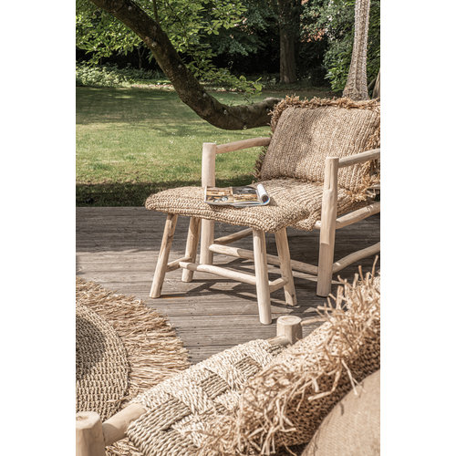 Bazar Bizar The Raffia Bench - 60 cm