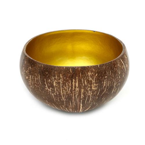 Bazar Bizar The Coco Food Bowl - Natural Gold