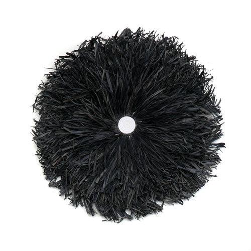 Bazar Bizar The Raffia Juju - Black - 50 cm