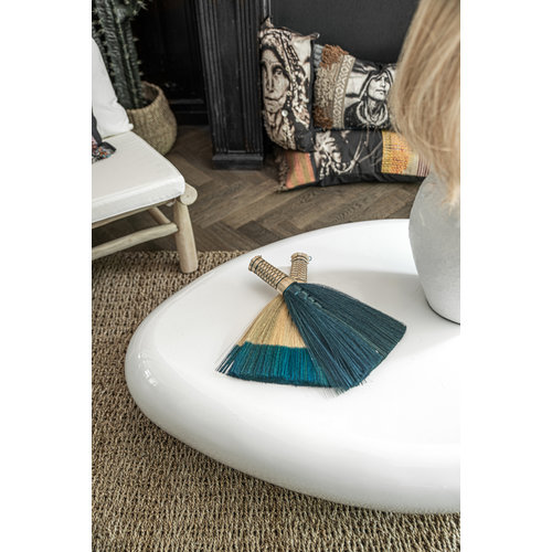 Bazar Bizar The Sweeping Brush - Turquoise