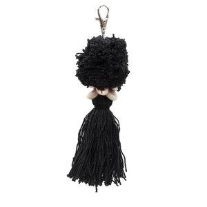 Bazar Bizar The Pompon Keychain - Black