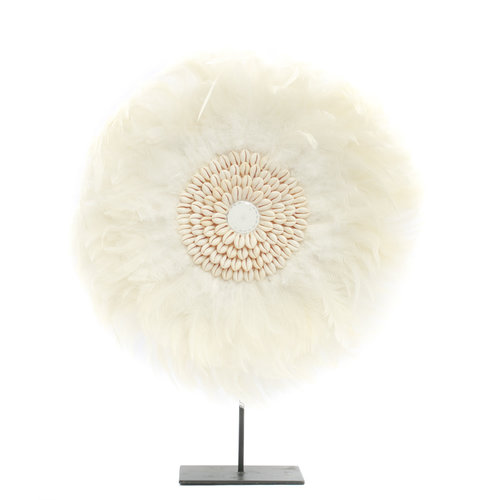Bazar Bizar The Coastal Juju on Stand - White - 50 cm