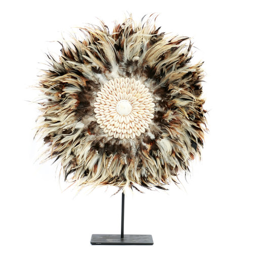 Bazar Bizar The Coastal Juju on Stand - Grey Brown - 50 cm
