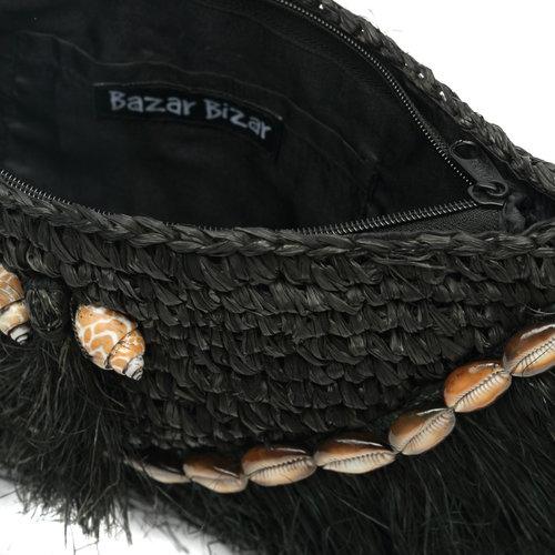 Bazar Bizar The Island Clutch - Black
