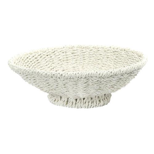 Bazar Bizar Porto Seagrass Kulho - Valkoinen - 38 cm