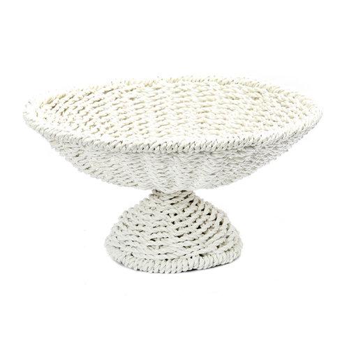 Bazar Bizar The Seagrass Fruit Platter - White - 38 cm