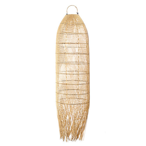 Bazar Bizar The Squid Pendant - Natural - 110 cm