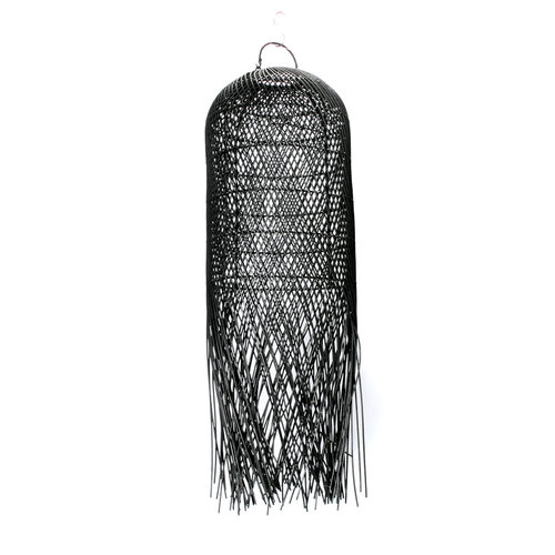 Bazar Bizar The Squid Pendant - Black - 80 cm