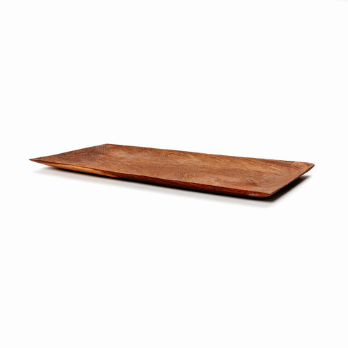 Bazar Bizar The Teak Root Sushi Plate - Brown - 30 cm