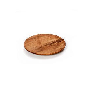 Bazar Bizar Teak Root Pyöreä Lautanen - Ruskea - 14 cm
