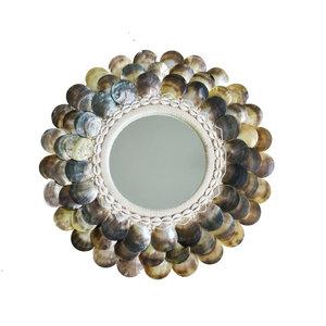 Bazar Bizar Coin Peili - Natural Ruskea - 40 cm
