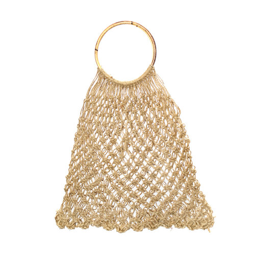 Bazar Bizar The Jute Crochet Shopper - Natural