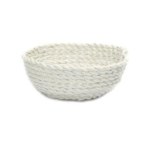 Bazar Bizar Seagrass Kulho - Valkoinen - 15 cm