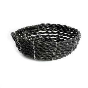Bazar Bizar Seagrass Kulho - Musta - 15 cm