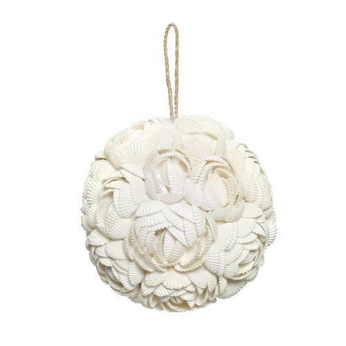 Bazar Bizar The Rose Shell Ball - White - L