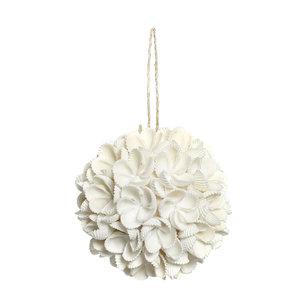 Bazar Bizar The Flower Shell Ball - White - M