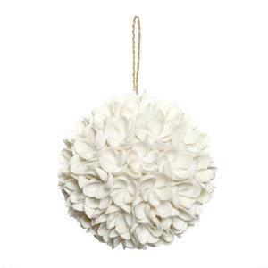 Bazar Bizar The Flower Shell Ball - White - L